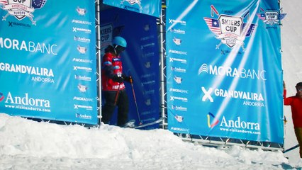 Run Parker White - BC Slopestyle Round 1 - Mora Banc Skiers Cup Grandvalira 2016