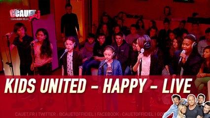 Kids United - Happy (Pharrell Williams) - Live - C'Cauet sur NRJ