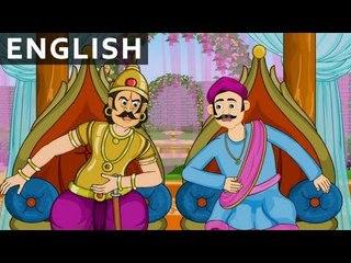 Root Of Rassagulla  - Tales of Tenali Raman - Animated/Cartoon Stories For Kids