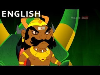 Hanuman Meets Ravana - Hanuman In English - Animation / Cartoon Stories For Kids