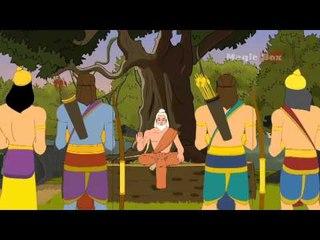 Rama And Vishvamitra - Ramayanam In Malayalam - Animation/Cartoon Stories For Kids