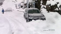 Extreme Snow Off Road with Snow Chains - Mitsubishi Pajero Sport-Montero-Challenger Sport