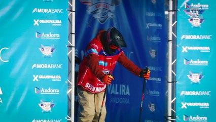 Run Seth Morrison - BC Slopestyle Round 2 - Mora Banc Skiers Cup Grandvalira 2016