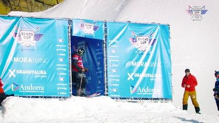 Run Tim Durtschi- BC Slopestyle Round 2 - Mora Banc Skiers Cup Grandvalira 2016
