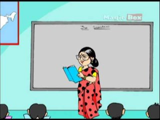 Gandhi Thatha - Pre School Telugu - Animated Rhymes For Kids