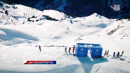 Run Loïc Collomb-Patton - BC Slopestyle Round 2 - Mora Banc Skiers Cup Grandvalira 2016