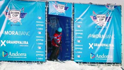 Run Parker White - BC Slopestyle Round 2 - Mora Banc Skiers Cup Grandvalira 2016