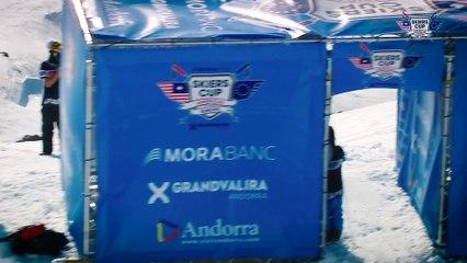 Run Sam Favret - BC Slopestyle Round 2 - Mora Banc Skiers Cup Grandvalira 2016