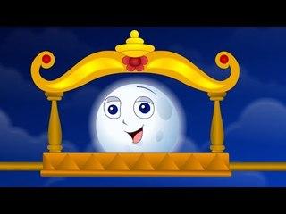 Chandamama   Telugu Rhymes For Kids   2D Animation   Children Cartoon Songs