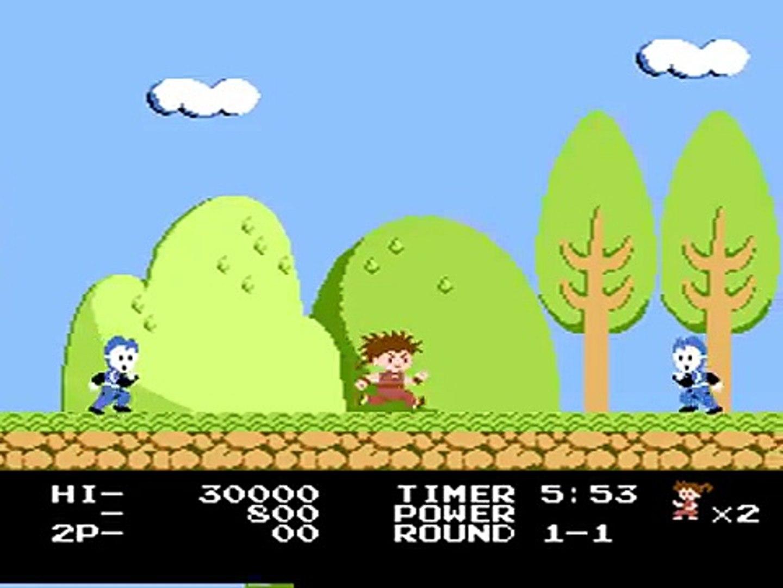 Kid Niki - Radical Ninja (USA) - Nintendo Entertainment System / Famicom (N... [MESS] [shortplay]