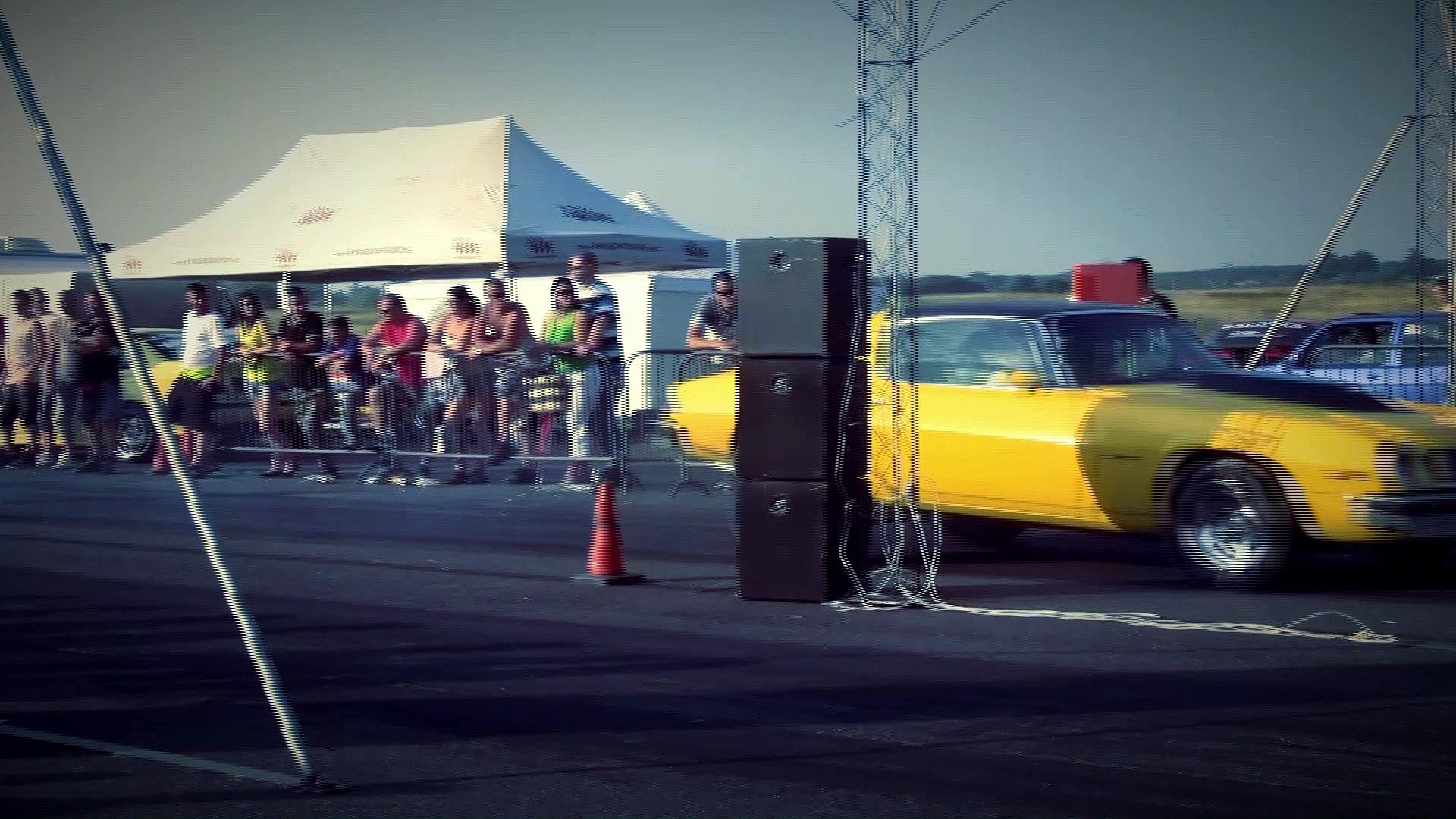 Chevrolet Camaro 7.0 Nitro Vs. Chevrolet Camaro 6.6 Nitro Drag Race HD