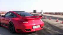 Porsche 997 ES1000R Turbo Vs. Fiat Punto