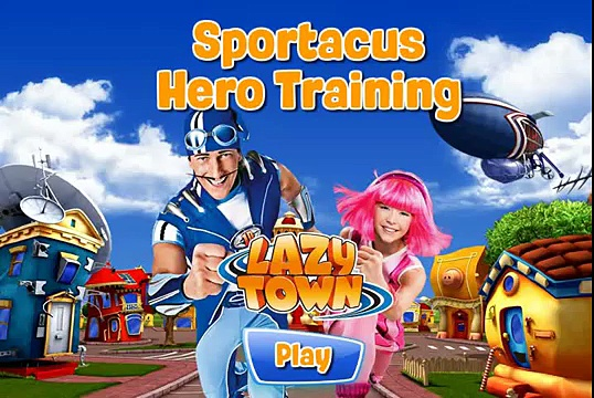 Lazy Town – Sportacus Hero Training/Лентяево: Тренер Спортакус