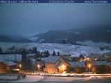 Timelapse Webcam Villard de lans - 17/02/2016 - Colline des Bains