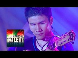 Charli Guitarist Myanmar's Got Talent 2015 Final   Season 1
