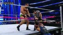 Ryback Vs Rusev WWE SmackDown Fight Oct 8 2015