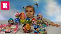 Мисс Катя игрушки сюрпризы в яйцах и пакетиках Барби Герои из Дисней unboxing surprise toys _ blind bags . Кейти и Макс