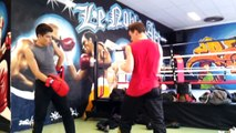 French boxing - USF Boxe Francaise - Section Jeunes - Savate Fight - Entrainement
