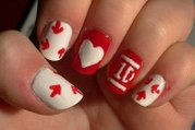1D Nails - One Direction Nail Art - One Direction Nails - 1D Nails - How to do one direction nail - inspired nails