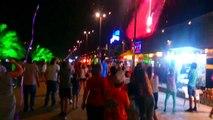 Georgia Adjara - Batumi City At Night - Грузия Аджария - Город Батуми Ночью
