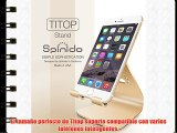iPhone Soporte Spinido® Serie Titop teléfono aleación de magnesio-aluminio Soporte de escritorio