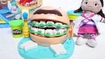 Play Doh Doctor Drill N Fill Playset w/ Doc McStuffins Dentist Hasbro Toys Playset Juego de Dentist