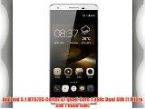 Cubot X15 - Teléfono Móvil 4G Lte Smartphone libre (pantalla 5.5 Cámara 16 Mp Android 5.1 Quad-Core
