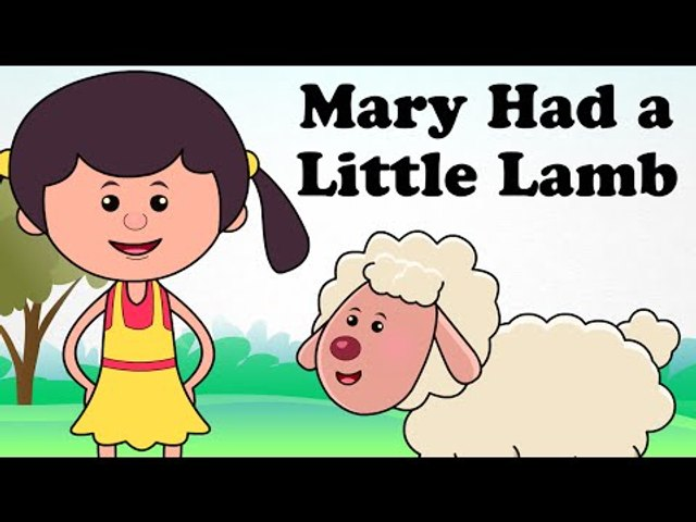 Mary Had a Little Lamb | Kids English Nursery Rhymes | HD Animated Songs For Children