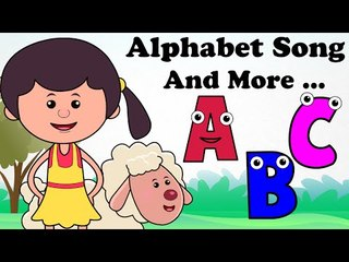Alphabet Songs | ABC Songs for Children | 30+ Minutes | Best Animation Nursery Rhymes Songs