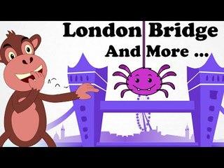London Bridge Is Falling Down | And Lots More Kids' Songs | 30 Minutes | Nursery Rhymes For Children