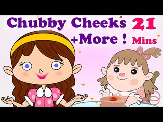 English Nursery Rhymes For Kids - Chubby Cheeks, Dimple Chin and Many More Kids Songs | Popular Nursery Rhymes Collection