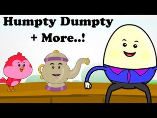Humpty Dumpty and More | Top 20 Cartoon Nursery Rhymes Songs For Babies & Toddlers