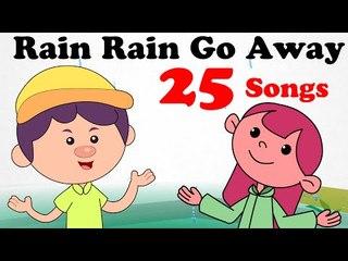 Rain Rain Go Away & More Classic Nursery Rhymes! | 25 Songs | 35 Minutes | HD Songs For Children