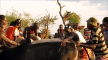 PEOPLE ARE AWESOME 2015 - Hamar Tribe Bull Jumping Ceremony Ethiopia Documentary (MUST SEE