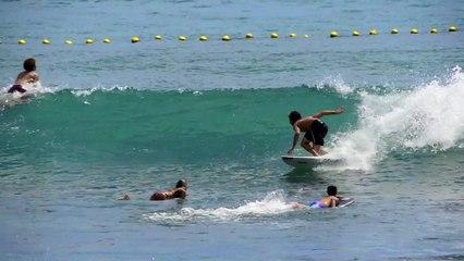 Jérémy Florès - Surf à La Réunion - Février 2016