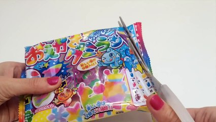 Kracie Popin Cookin Oekaki Gummy Land DIY おえかきグミランド Easter Bunny Make Gummy Candy at Home グミランド