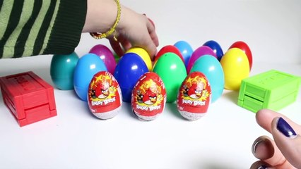 Angry Birds Surprise Eggs Play Doh Angry Birds Überraschung Eier Huevos Sorpresa Toy Videos