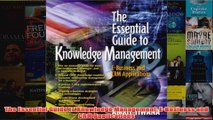 Download PDF  The Essential Guide to Knowledge Management EBusiness and CRM Applications FULL FREE