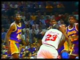 """Michael Jordan - """"The Move"""" - 1991 NBA Finals vs Los Angeles Lakers"""