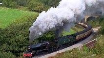 Scenic Steam Trains- North Yorkshire Moors Railway (NYMR), UK
