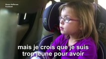 Une petite fille raconte ses peines de coeur à sa maman