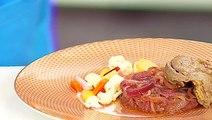 Recette d'Anne Alassane : foie gras confit aux oignons et vinaigre de pineau des Charentes - PG 166