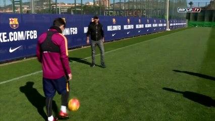 Un but de Lionel Messi laisse Eros Ramazzotti sans voix