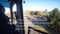 Haute-Somme : à bord de l'hélicoptère de la RTE