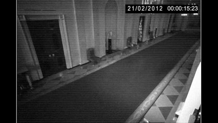Ghost Caught On CCTV From A Hall