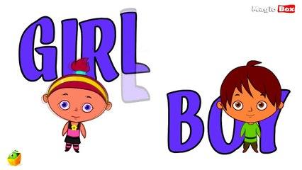LEARN OPPOSITES PART 1 - 100 Opposite Words For Childrens - Animated Educational Video For Kids