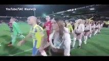 La Saint-Valentin sexy d'un club de foot