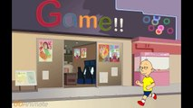 caillou does not want thanksgiving dinner and goes to chuck e cheeses and gets grounded