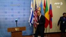 Ban Ki-moon rend hommage à Boutros Boutros-Ghali