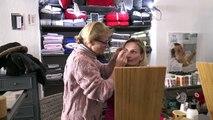 DICI TV - Séance maquillage à Vars pendant les vacances